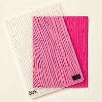 Woodgrain Textured Impressions Embossing Folder