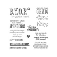 B.Y.O.P. Photopolymer Stamp Set