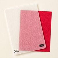 Elegant Dots Textured Impressions Embossing Folder