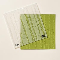 Woodland Textured Impressions Embossing Folder