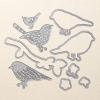 Birds & Blooms Thinlits Dies
