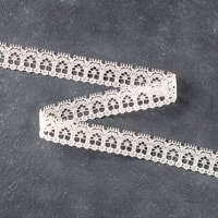 "Very Vanilla 1/2"" (1.3 Cm) Lace Trim"