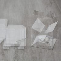 Clear Tiny Treat Boxes