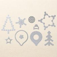 Festive Stitching Thinlits Dies